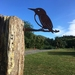 KINGFISHER  BIRD METAL SILHOUETTES