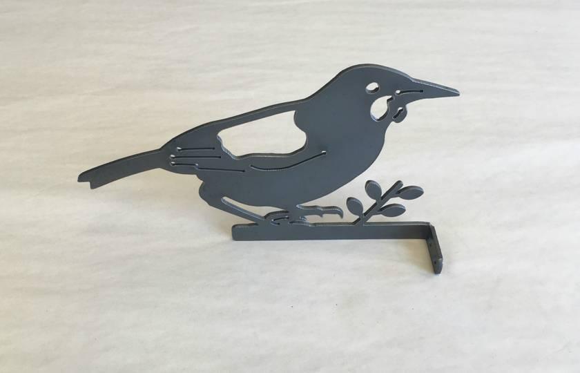 SADDLEBACK BIRD One of NZ's favourite