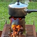 Mini Camping stove (Stainless steel)