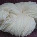 Sock Yarn, Merino/Nylon Superwash White 120gm