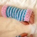 Cosy NZ wool fingerless gloves for kiddies in 2 sizes - 2-4 years and 5-7 years