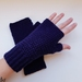 Classic collection fingerless gloves - Navy