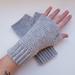 Classic collection fingerless gloves - Ecru