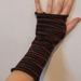 Merino handknit fingerless gloves