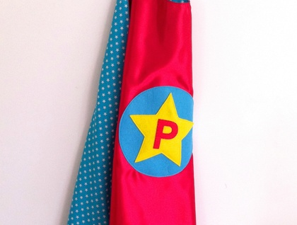 Kids Personalised Superhero Cape