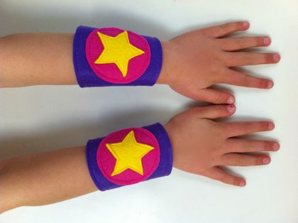 Kids Superhero Cuffs