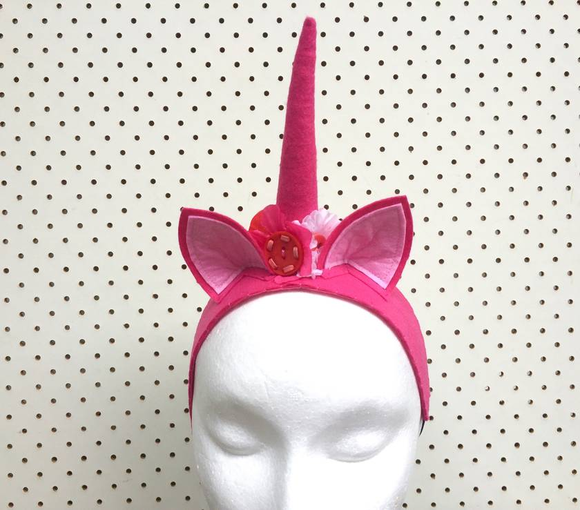Unicorn Horns - Four colours to choose from