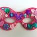 Kids Embellished Mask - pink