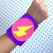 Kids Superhero Cuffs - Lightning Bolt