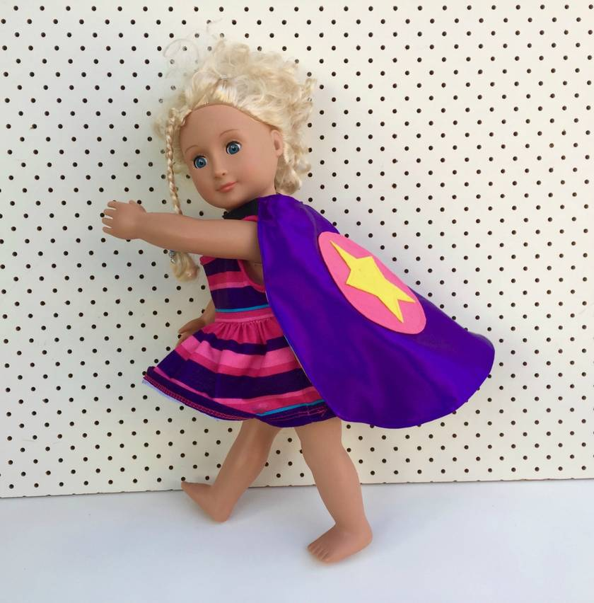Doll/Toy Superhero Cape