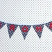 Bunting - Aroha - black and white