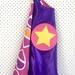 Kids Superhero Cape - Purple with Hearts