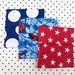 Reuseable Sandwich Bags - Pack of 3 - Superhero, Red and Blue