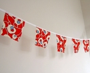 SALE - Square Bunting/Pennant Flags - small