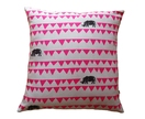 Cushion Cover - Rhinos - Pink - SALE