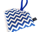Kids Owie Bag - Chevron - Blue