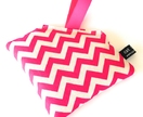 Kids Owie Bag - Chevron - Hot Pink