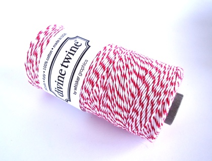 Bakers Twine - 10m - your choice of colour