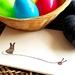 Bunny with Yarn Card