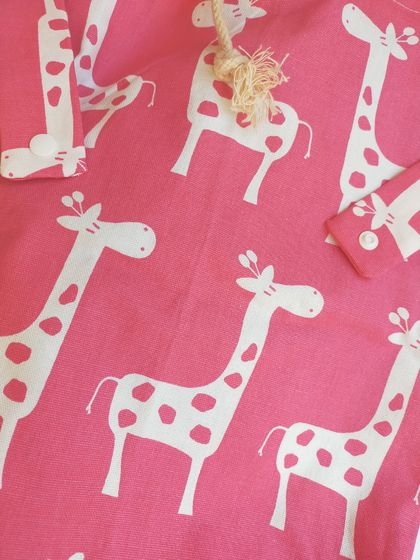Waterproof bag - Pretty Giraffe