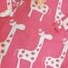 Waterproof bag - Pretty Giraffe
