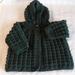 100% wool knitted Hoodie & Booties