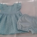Size 1 Dress & bloomers