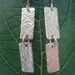 Sterling Silver 'articulated' Earrings