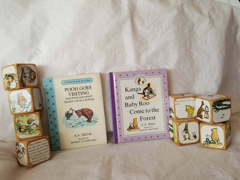 Story Block Set - Eeyore Has a Birthday