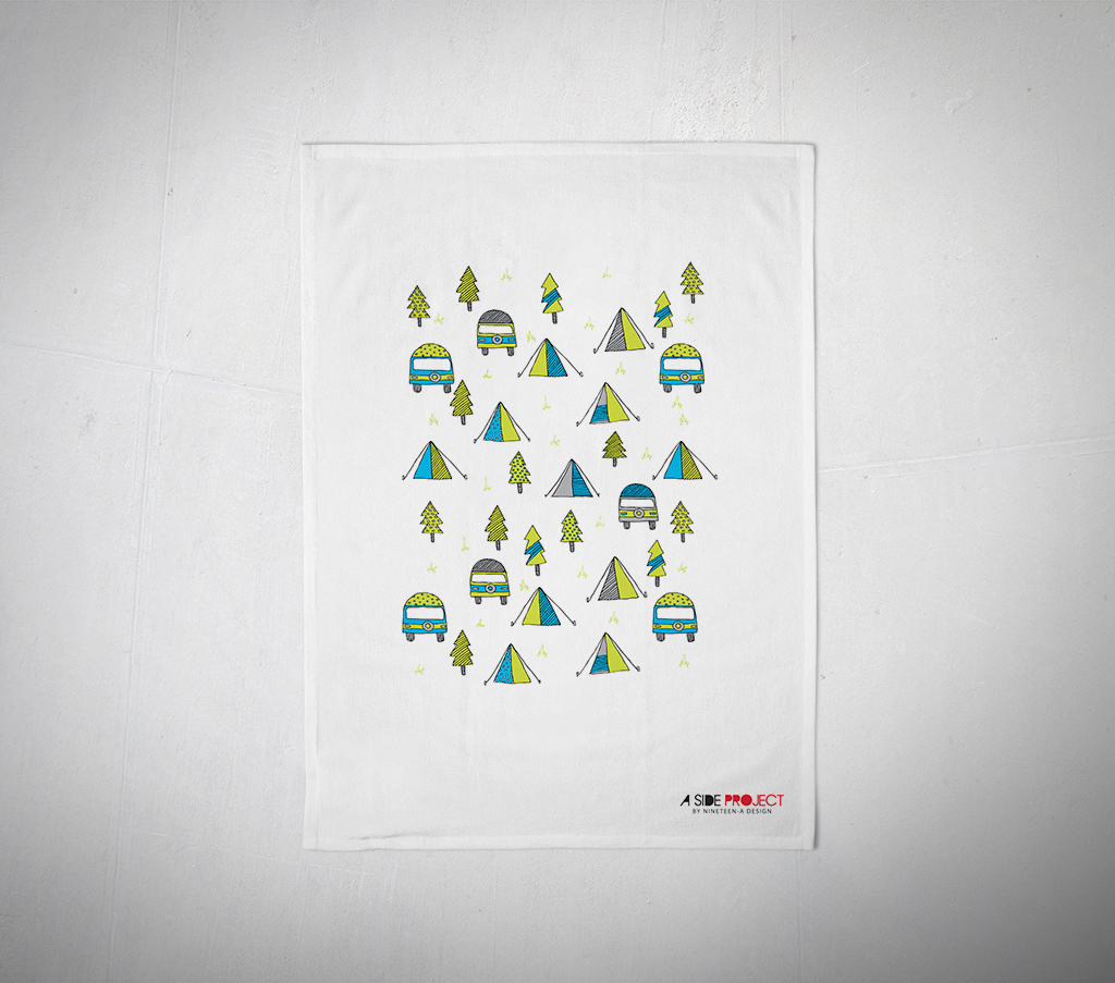 Bulk Tea Towels Nz: Camping Tea Towel