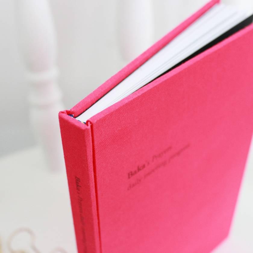 Custom-made blank book A5