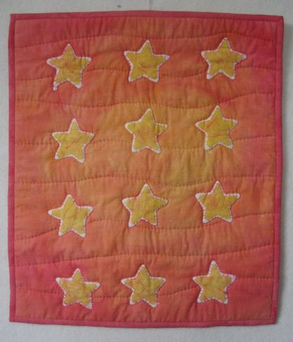 Stars wallhanging