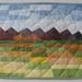 Landscape wall quilt