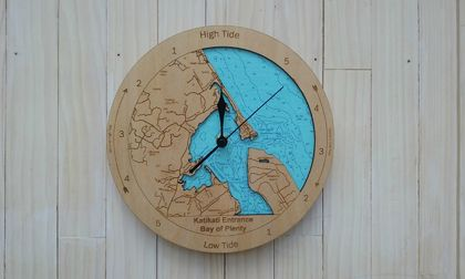 Katikati Entrance design Tide Clock