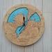 Porirua Harbour design Tide Clock