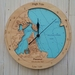 Pauanui / Tairua Harbour design Tide Clock