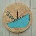 Rakaia River Mouth design Tide Clock