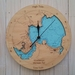 Whitianga Harbour design Tide Clock