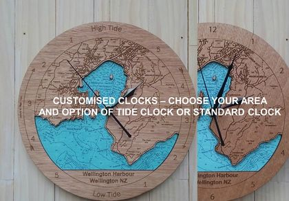 Customised Clock - Tide or Standard Time