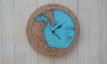 Whangarei Harbour design Tide Clock