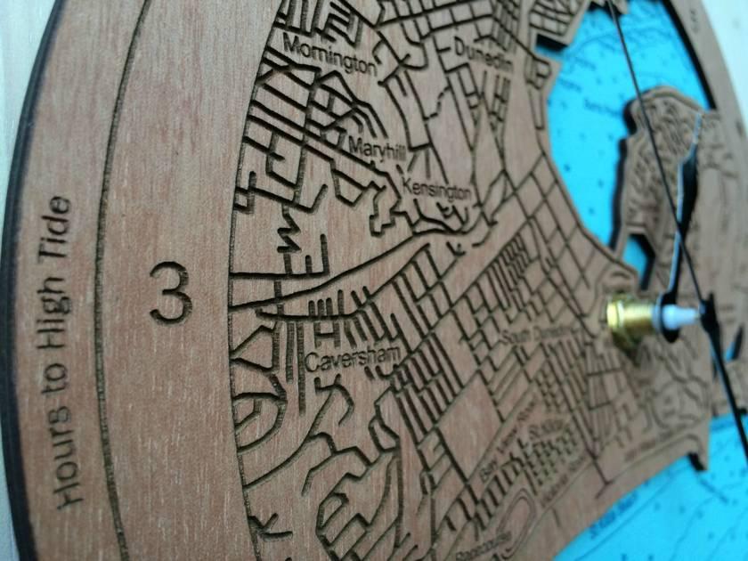 Dunedin design Tide Clock