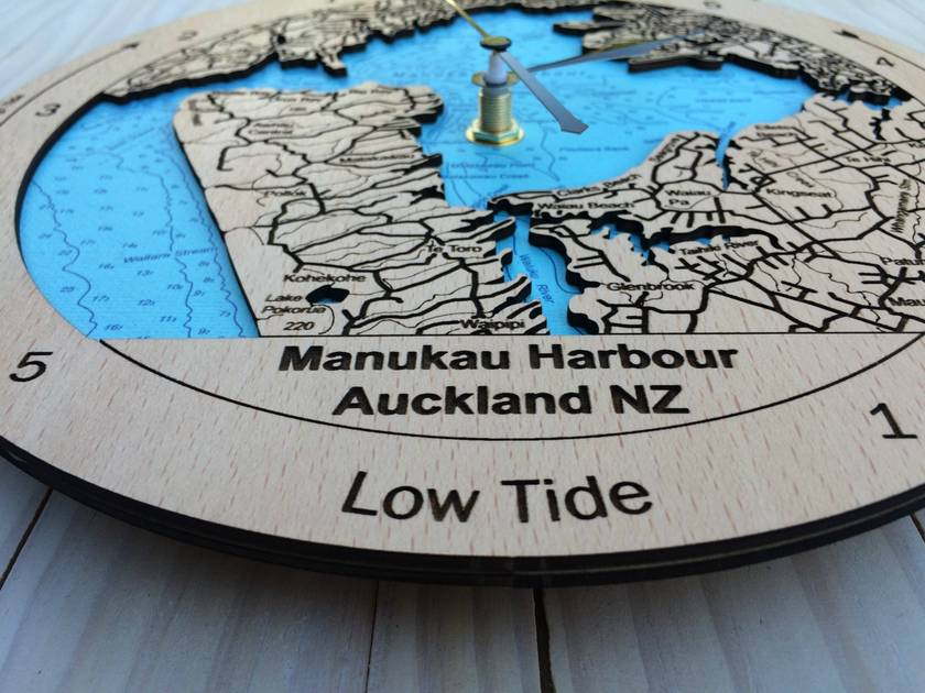 Manukau Harbour design Tide Clock
