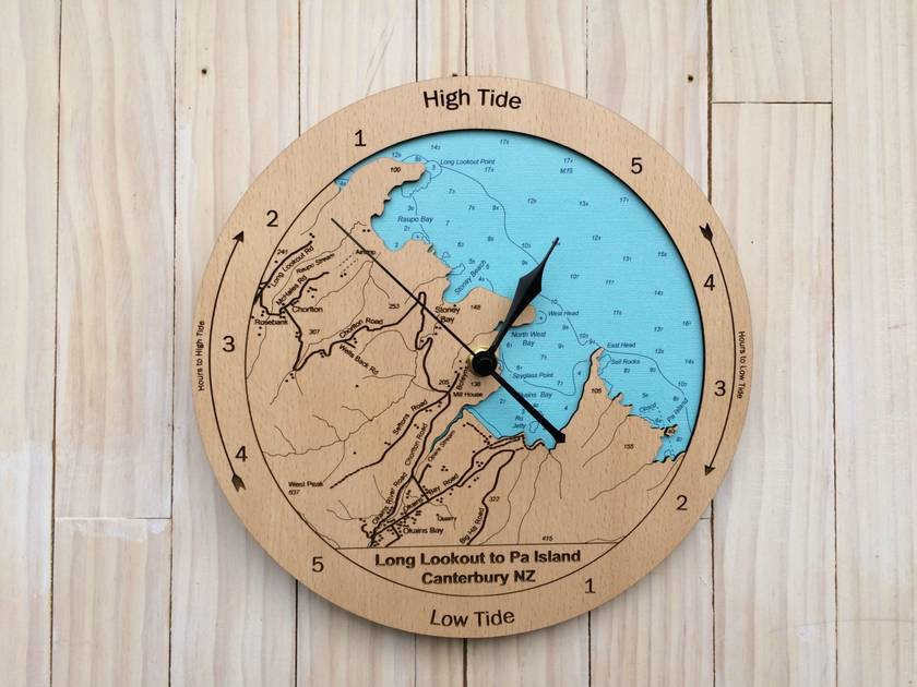 Long Lookout to Pa Island Tide Clock
