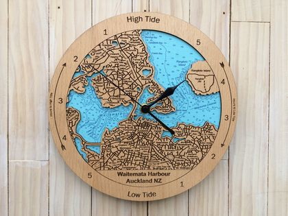 Waitemata Harbour design Tide Clock