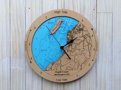 Kapiti Coast design Tide Clock
