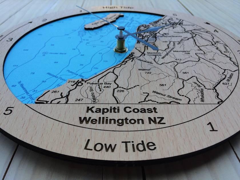 Kapiti Coast design Tide Clock