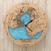 Wellington Harbour design Tide Clock