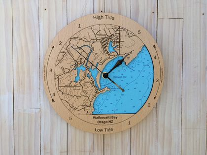 Waikouaiti Bay design Tide Clock