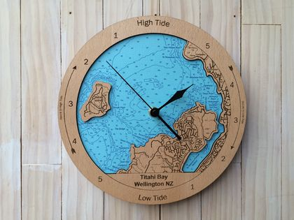 Titahi Bay design Tide Clock