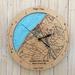 Hokitika River Mouth design Tide Clock